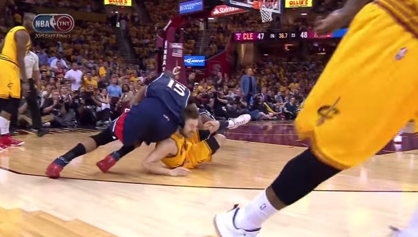 Al Hoford Gets Ejected For Elbowing Matthew Dellavedova, LeBron Defends Delly's Percieved Dirty Plays