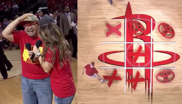 The Worst Game of Tic-Tac-Toe Ever Happened At A Rockets Game