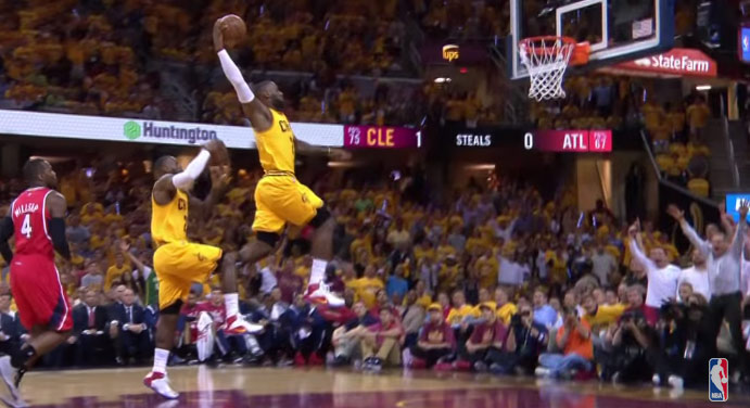 LeBron James Best Moments From GM4 vs the Hawks