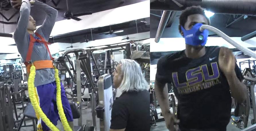 The Killer B's: LSU Freshmen Ben Simmons & Antonio Blakeney Workout Video
