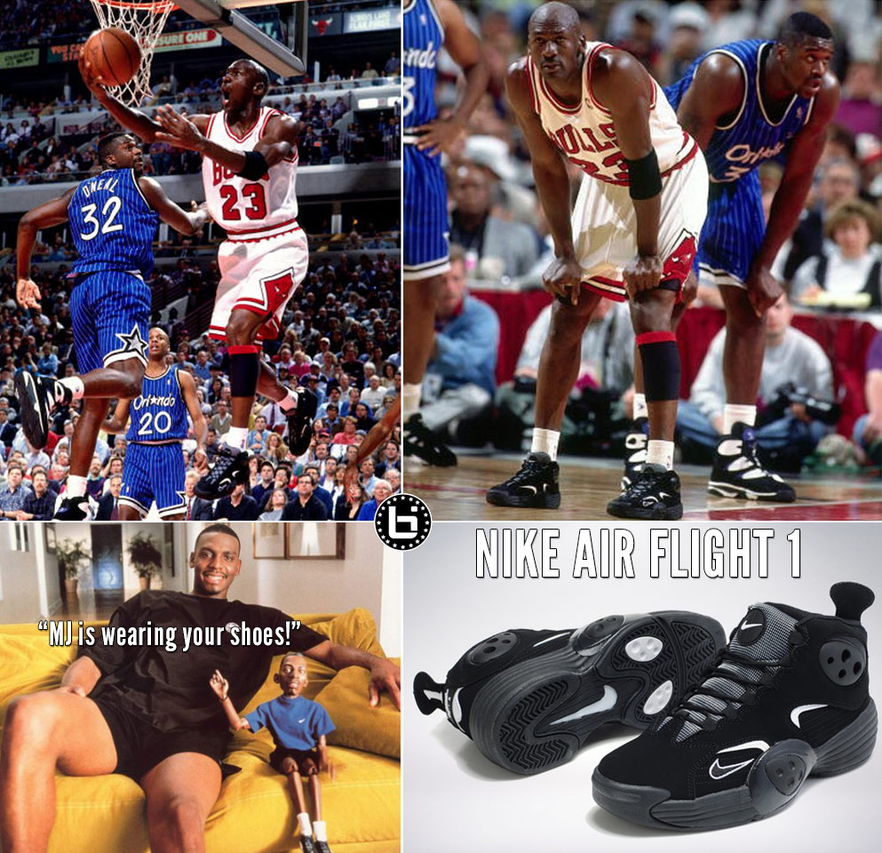 "ee12e4874e40 bil-mj-penny-flight. Via Raised By Thieves. After debuting the Air Jordan  11 ""Concord"" in Game 1 of the 1995 Eastern Conference ..."