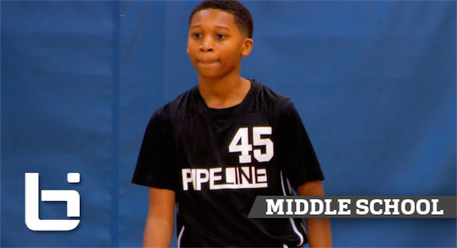 6th Grader Jaden Jones Has CRAZY Passing Skills & Handles!