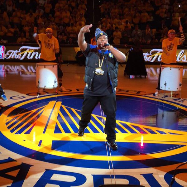 E-40 Performs During Half-Time Show of GM1   Rappers For GMS 2-7