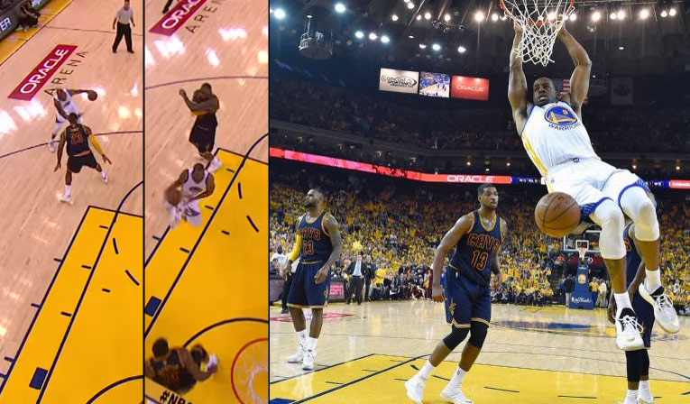 Andre Iguodala Best Plays From GM1: Crosses LeBron & Dunks, Hits a 3-Pointer With 1 Shoe On