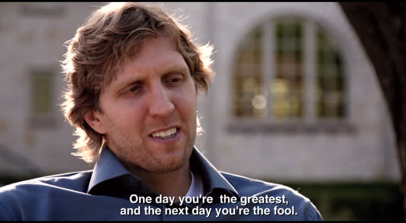 """Trailer for Dirk's New Documentary """"Nowitzki: The Perfect Shot"""""""