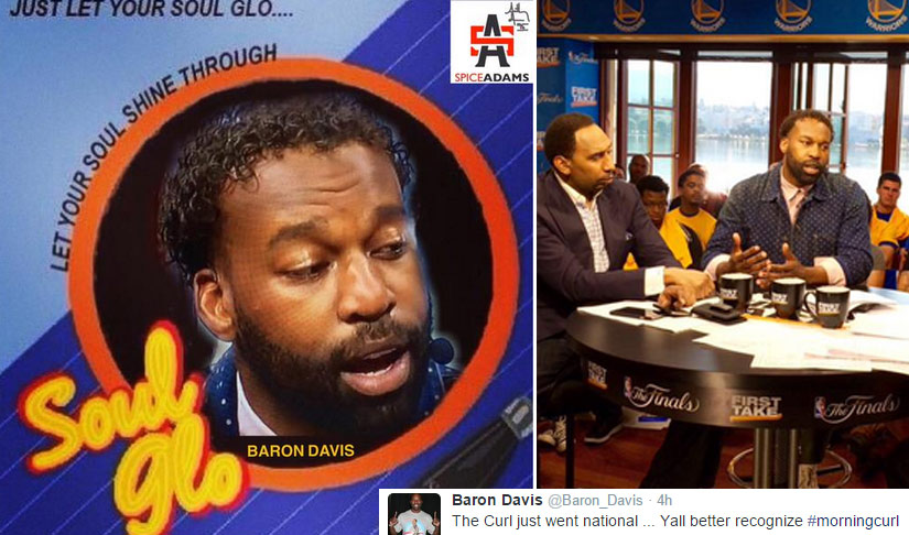Baron Davis' Gheri Curl Went Viral – The Best Davis Memes & Gheri Curls of All-Time