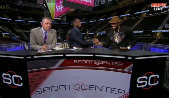 Dwyane Wade's Great & Funny GM3 Postgame Interview with LeBron