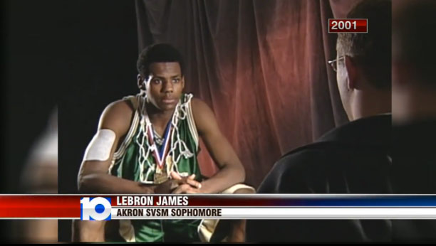 2001 Interview: LeBron James at 16 Sounds A Lot Like James at 30