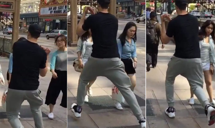 Bulls' Doug McDermott Shows Off His Euro-Step Move…On A Couple of Women