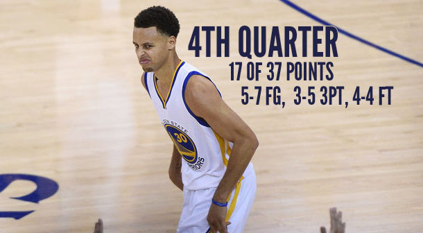 Steph Curry Explodes in 4th Quarter, Mean Muggs After Embarrassing Delly – Multiple Times!