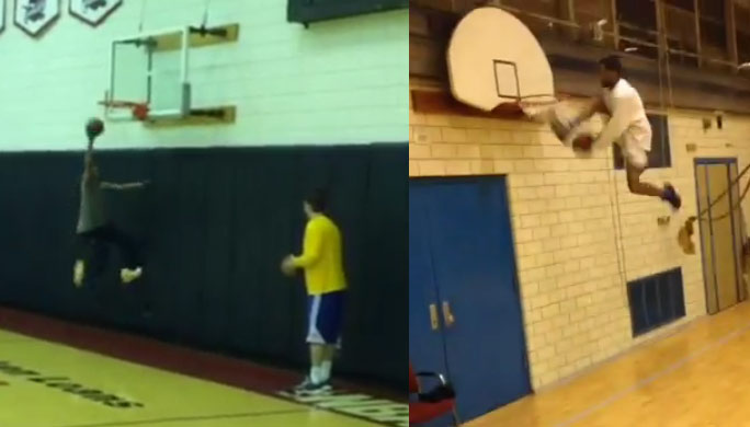 60 Year Old Warriors Coach Alvin Gentry Dunks at Practice, Now Let's See Him Try This…