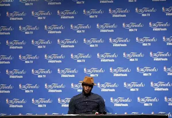 "LeBron James Post Game Conference After GM6, ""We ran out of talent"""