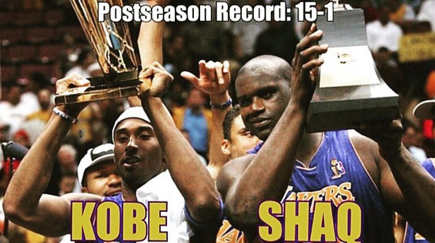 Kobe Wants To Remind You How Great the 2001 Champion Lakers Were
