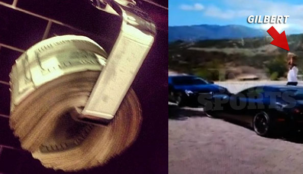 Gilbert Arenas Smashes Mercedes With Cinder Block Over Lost Netflix Password?