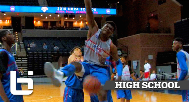 "6'11"" 280Lbs Udoka Azubuike Almost TEARS DOWN The GOAL At NBA Top100 Camp!"