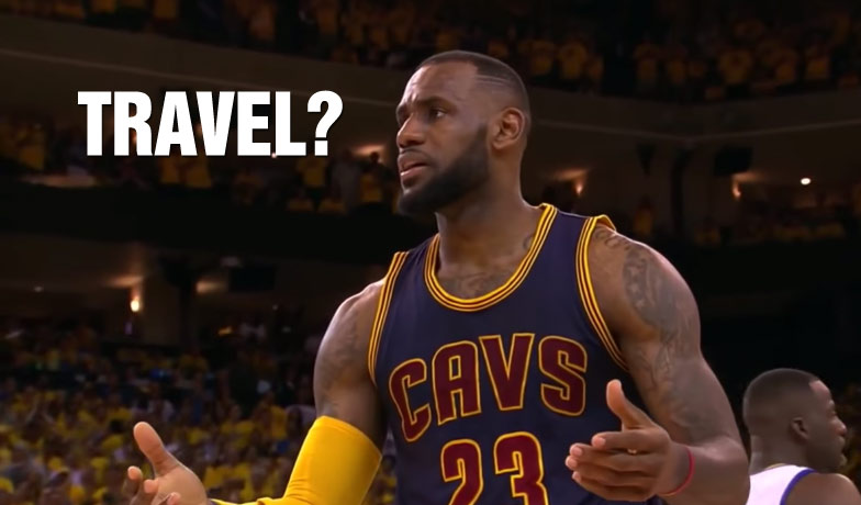 LeBron James & Cavs Best Uncalled Travels From 2014/15