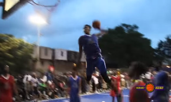 Derrick Jones Puts On A Dunk Clinic at the Chosen League's Season Kickoff Game