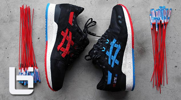 "ASICS x WALE x VILLA | Gel Lyte III ""Bottle Rocket"""