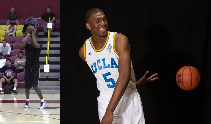 Kevon Looney Shows Off His Shooting Touch at 2015 NBA Draft Workout