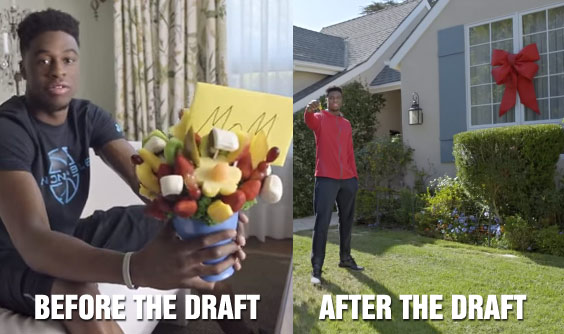 Footlocker Commercial: How Life For Emmanuel Mudiay Will Change After the NBA Draft