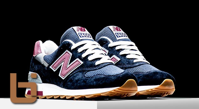 "New Balance 1400 ""Carbon Blue"""