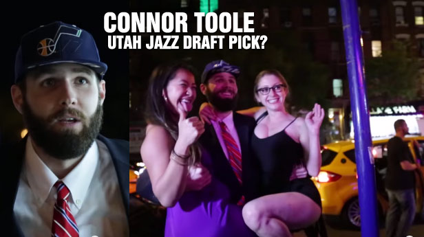 6'8 Guy Pretends to Be A Utah Jazz Draft Pick, Gets Free Drinks & Women