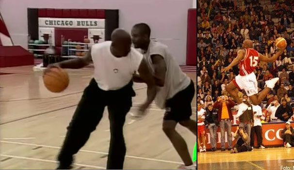 Remembering When A Retired Michael Jordan Came By The Bulls Practice To Accept A Challenge From Corey Benjamin