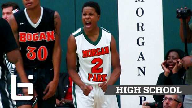 Chicago's Next Playmaker Charlie Moore Raises Game! Official Junior Year Mixtape!