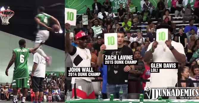Guy Dupuy Impresses Zach LaVine & John Wall, Kills the BET Dunk Contest
