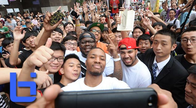 Damian Lillard's last stop in China | #TakeOnSummer