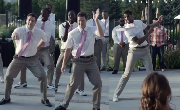 Now Watch Jimmer Fredette Whip & Nae Nae & Teach You How To Dougie At A Wedding
