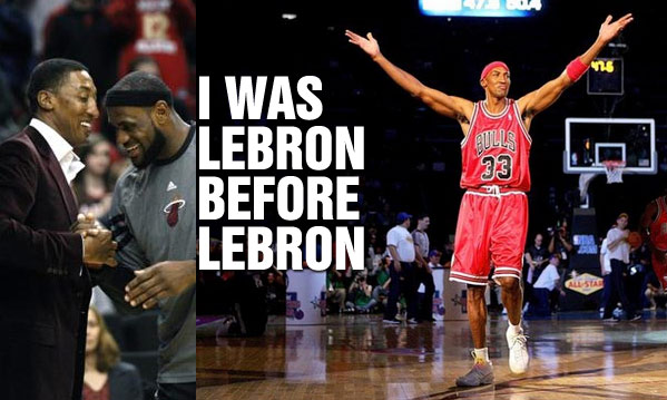 "Scottie Pippen Says ""I was LeBron before LeBron"""