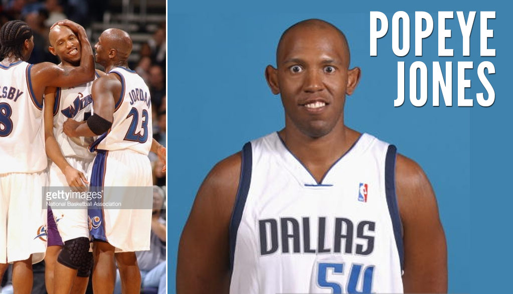 Popeye Jones – the 6'8 rebounding Beast & film critic who never dunked in a game