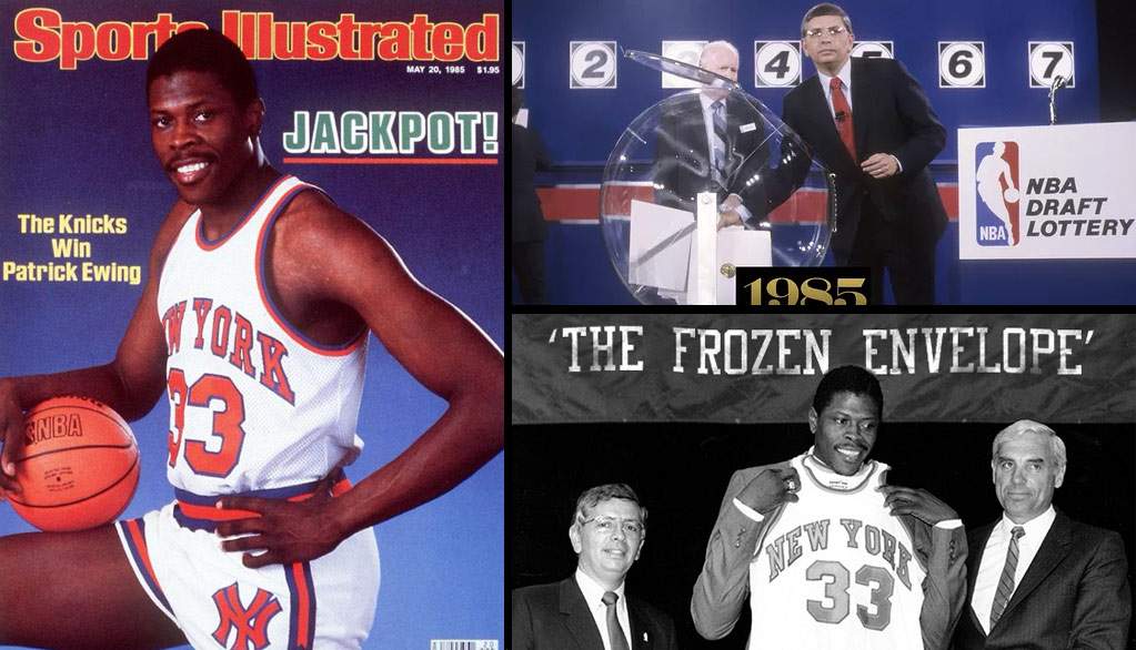 The Knicks Select Patrick Ewing in the 1985 NBA Draft (Was the Lottery Fixed?)