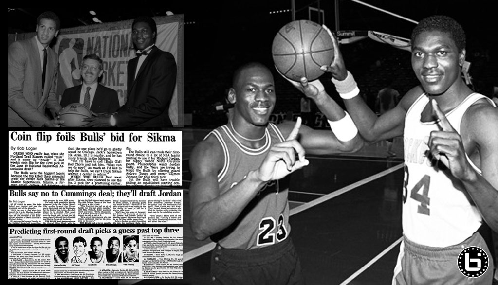Remembering When The Chicago Bulls drafted (but didn't want to draft) Michael Jordan with the 3rd pick