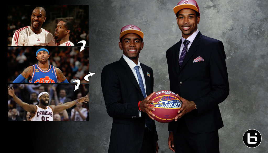 How Did the Cavs End Up With the 1st pick (Kyrie Irving) & 4th Pick in the 2011 Draft Again?