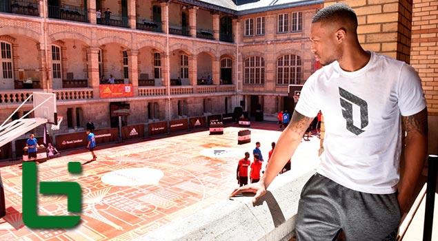 Damian Lillard in Paris   #TakeOnSummer