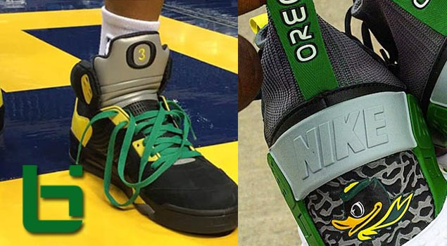 Exclusive Oregon PE's | AJ V's & Nike Huarache