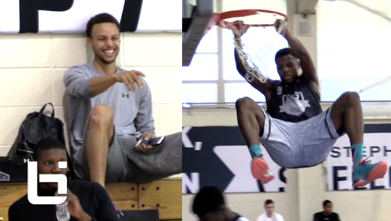 Dennis Smith Jr. Impresses Stephen Curry In One On One Games! Mixtape+Raw Footage