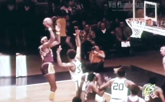 Wilt Chamberlain Had An Unstoppable Fadeaway Jump Shot…YES HE DID!