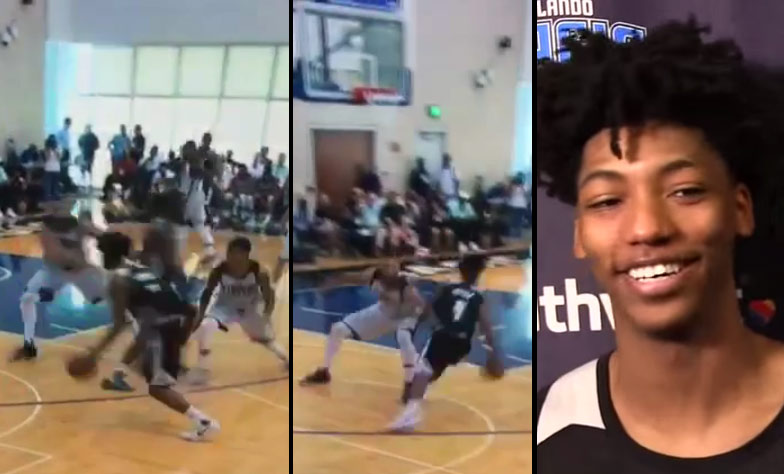Elfrid Payton Crosses 2 Defenders then Drives In For A Dunk