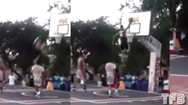 Is This Real Life? One of the Most Insane & Dangerous In-Game Between the Legs Dunks You Will Ever See!