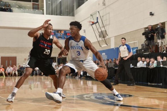 """Stanley Johnson 24pts & 9rebs vs Clippers, says """"I have a target on"""" LeBron James"""
