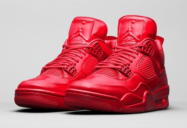 all red air jordan 11lab4