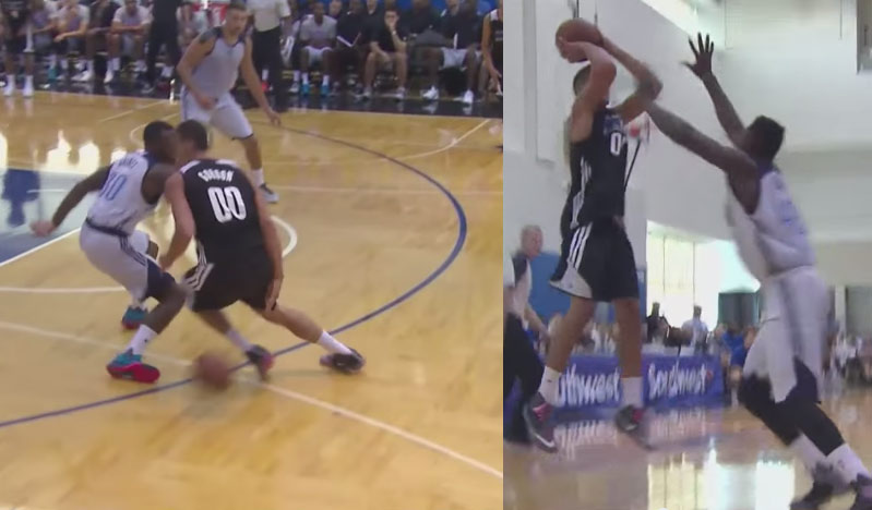 Aaron Gordon Shows Off His Handles & Jumper vs Thunder, back to back 20 & 10 games