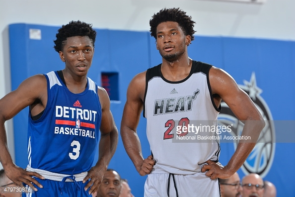 Justise Winslow vs Stanley Johnson Duel in Orlando