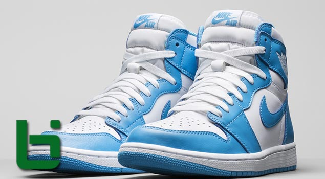 "Air Jordan 1 Retro HI OG ""UNC"""