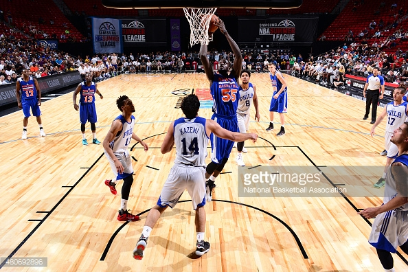 Undrafted Knicks Rookie Maurice Ndour Continues to Impress, Scores 23 vs 76ers