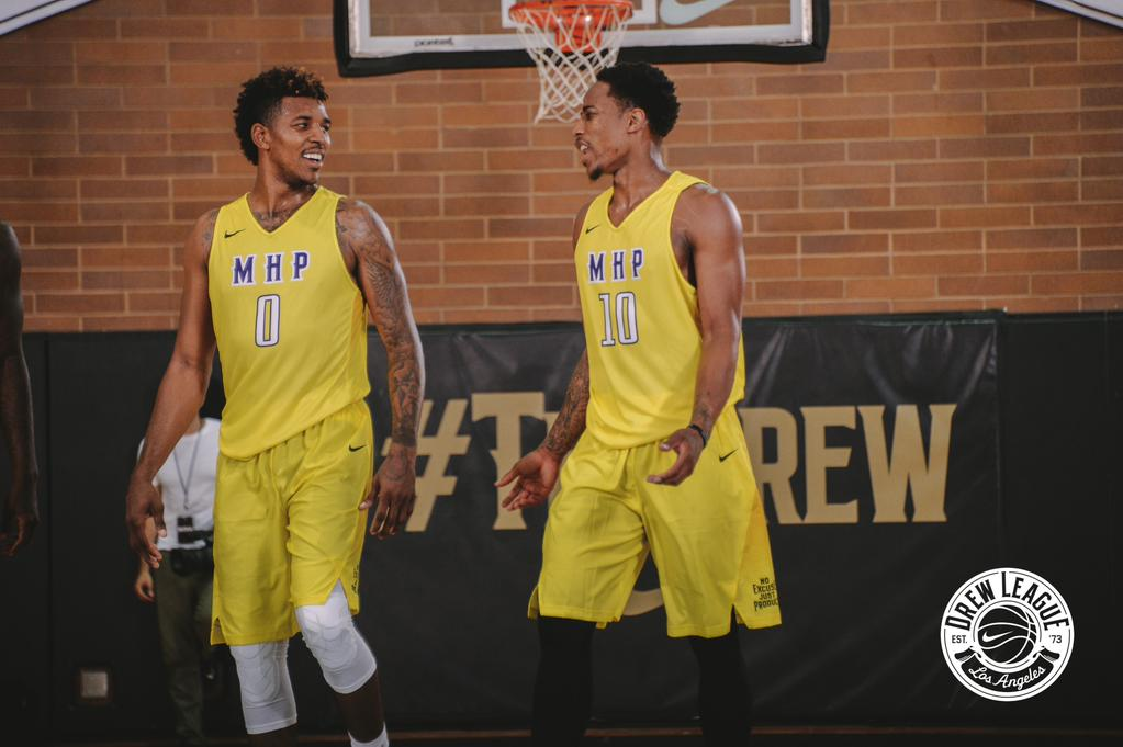 DeMar DeRozan & Nick Young Put On A Show At The Drew League