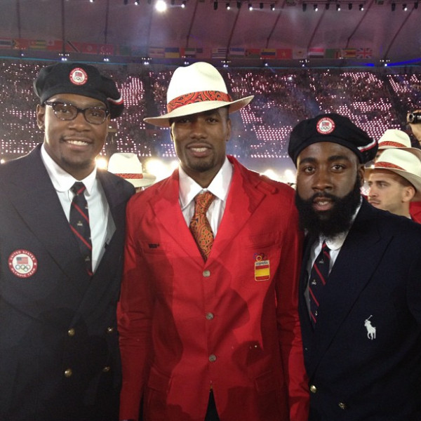 Kevin-Durant-Serge-Ibaka-and-James-Harden-Opening-Ceremony